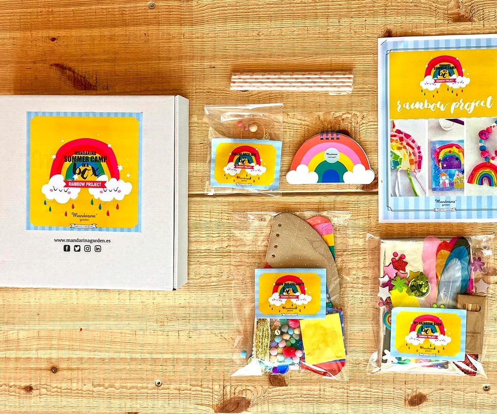 "Caja Art Studio ""Rainbow Project"""