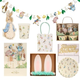 Pack Premium Party Peter Rabbit & Amigos